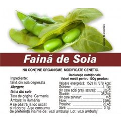 Faina soia degresata 500g