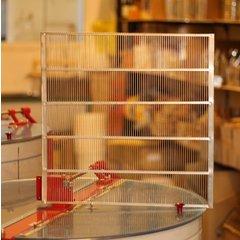 Gratie Hanneman 12 rame metalica perimetru exterior 500 x 500 mm