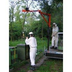 Macara apicola, lungime 2 m, inaltime 2 m, sarcina la varf 250 kg, rotire 360 grade