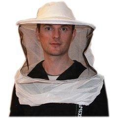 Masca apicola cu bust din tul
