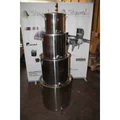 Maturator inox alimentar cu manere si canea inox 100 kg