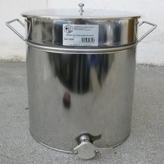 Maturator inox canea inox 70kg miere 50 litri cu manere Lyson