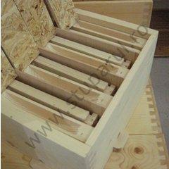 Nucleu imperechere 4 matci, lemn, cu rame