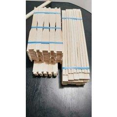 Rame stupi 1/1 tei, model canadian simplificat pentru faguri ceara, pachet 25 buc