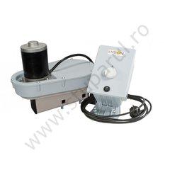Sistem de actionare electrica pentru centrifuge cu adaptor