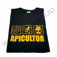 Tricou apicultor negru