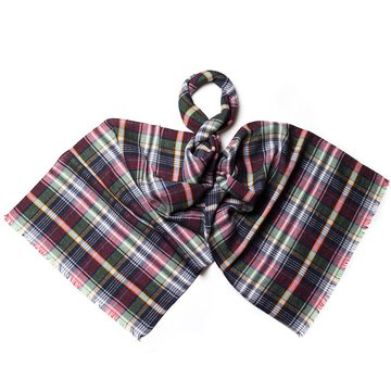 Madras wool scarf