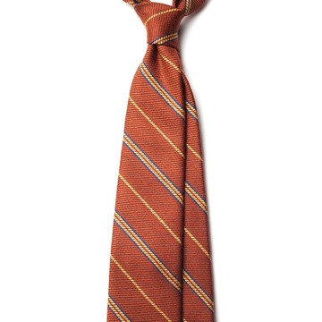 Mixed striped Wool tie