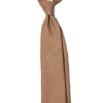 Oatmeal Wool tie