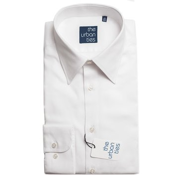 OXFORD COTTON SEMI-SPREAD SHIRT
