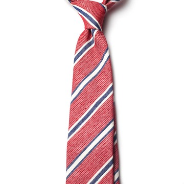 Regimental Stripes Silk Tie