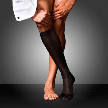 Ciorapi pana la genunchi din matase pura No.4