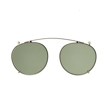 CLIP-ON GOLD - BOTTLE GREEN LENSES