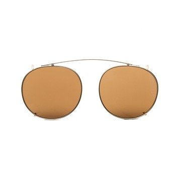 CLIP-ON GOLD - TOBACCO LENSES