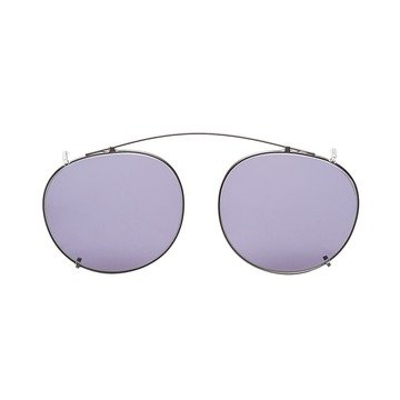 CLIP-ON SILVER - GRADIENT GREY LENSES