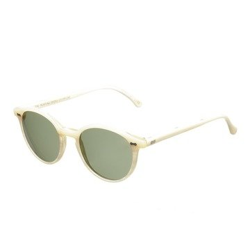 CRAN IVORY FRAME - BOTTLE GREEN LENSES