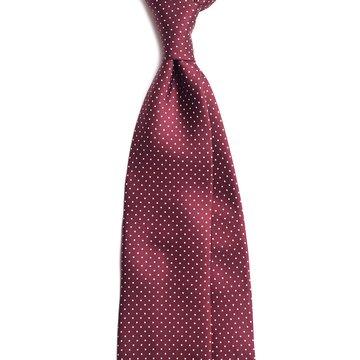 Cravata 7-fold matase model polka-dot