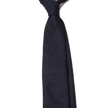 Cravata lana bleumarin