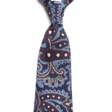 Cravata lana model paisley