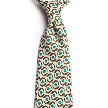 Cravata matase model geometric