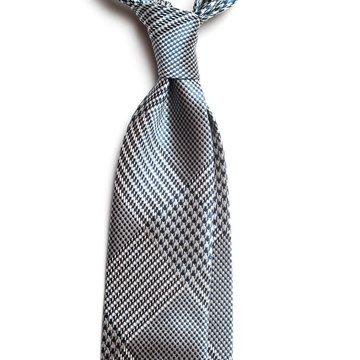 Cravata matase model Glen Check