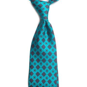 Cravata matase model medalion