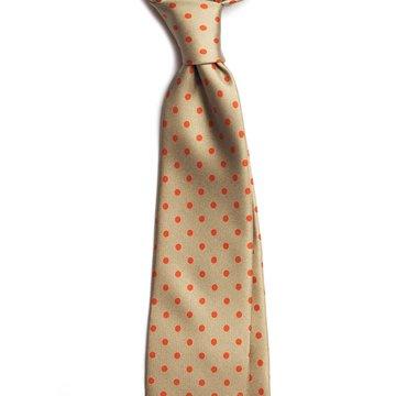 Cravata matase model polka dot