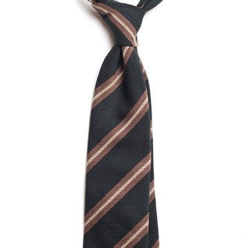 Cravata matase verde model dungi