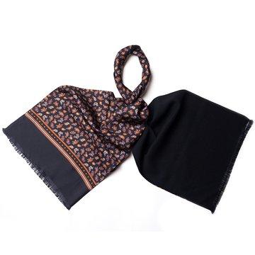 Esarfa lana model paisley