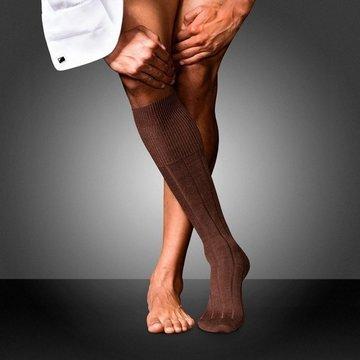 Sosete pana la genunchi FALKE No. 3 dark brown
