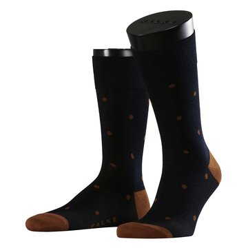Sosete scurte FALKE Dot dark navy