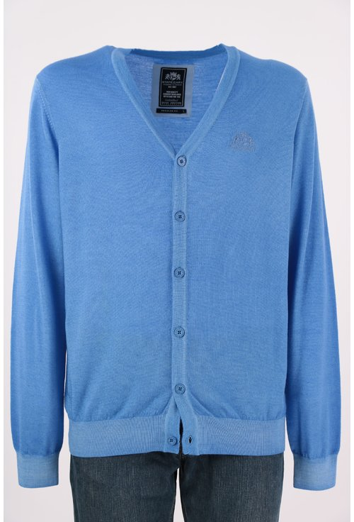 Cardigan albastru