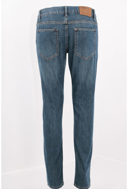 Jeans bleumarin slim fit