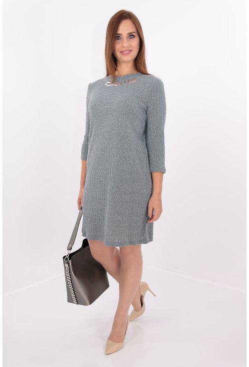 stiluri de moda fabrică autentică site-ul oficial Rochii marimi mari, Culoare Gri