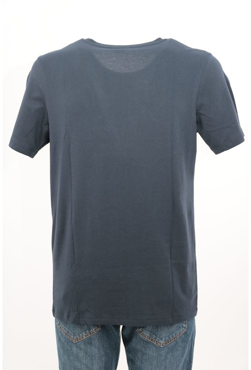 Tricou Jack&Jones bleumarin cu print text