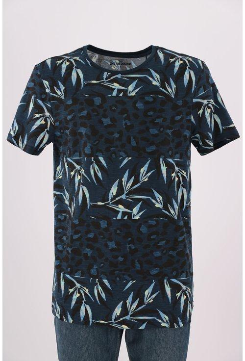 Tricou Loft bleumarin cu print floral