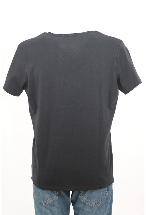Tricou Pepe Jeans negru cu imprimeu grafic