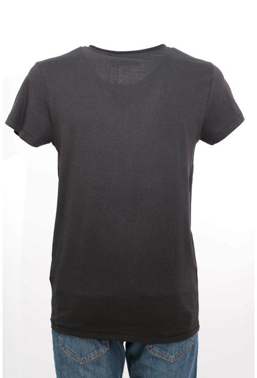 Tricou Sublevel negru cu print grafic