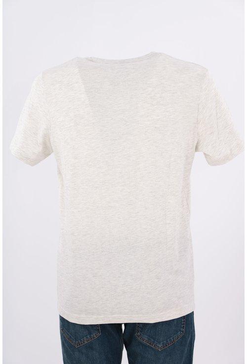 Tricou Tom Tailor gri cu imprimeu foto