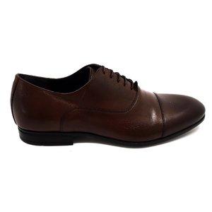 Pantofi barbati eleganti din piele naturala Leofex-890-1 Maro Box