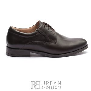Pantofi barbati eleganti din piele naturala Leofex - 930-1 Maro Box