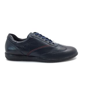 Pantofi barbati sport din piele naturala Leofex-534 Blue Box