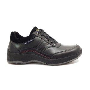 Pantofi casual barbati din piele naturala,Leofex - Mostra Luca 1 verde+negru box