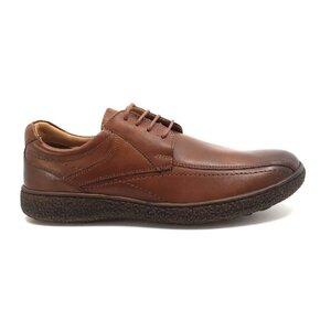 Pantofi casual barbati din piele naturala,Leofex - Mostra Matei 5 cognac box
