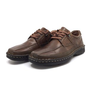 Pantofi casual barbati din piele naturala, Leofex - Mostra Vali maro box