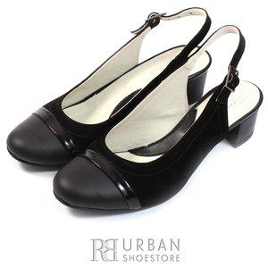 Pantofi casual dama din piele naturala - 245 negru