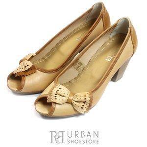 Pantofi casual dama din piele naturala, Leofex - 276 capuccino-maro