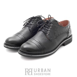 Pantofi casual dama din piele naturala,Leofex - 094 negru