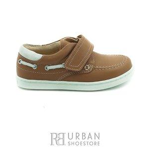 Pantofi copii din piele naturala, Leofex – 122 camel