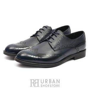 Pantofi de barbati eleganti din piele naturala - 516 Blue Box Florantic